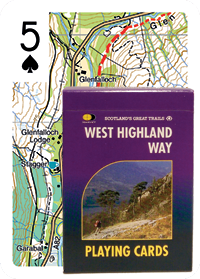 West Highland Way Playing Cards