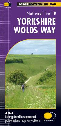 Yorkshire Wolds Way - Harvey XT40 map