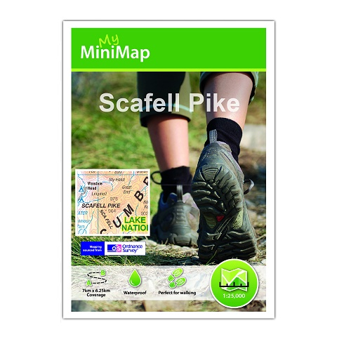 Scafell Pike 25k - My Mini Map