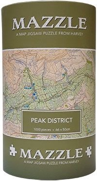 Peak District: Mazzle Map Jigsaw Puzzle