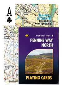 Pennine Way North Playing Cards