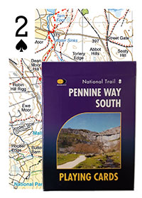 Pennine Way South Playing Cards