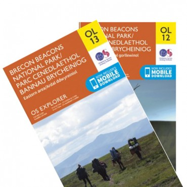 Brecon Beacons OS Bundle