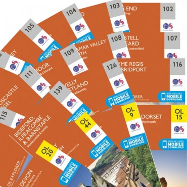 South West Coast Path OS Bundle