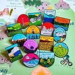 National Park Pins bundle - save 30%
