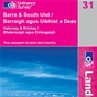 OS Landranger Map 31 Barra & South Uist