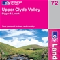 OS Landranger Map 72 Upper Clyde Valley