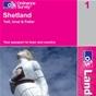 OS Landranger Map 1 Shetland - Yell, Unst & Fetlar