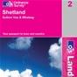 OS Landranger Map 2 Shetland - Sullom Voe & Whalsay