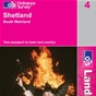 OS Landranger Map 4 Shetland - South Mainland