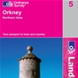 OS Landranger Map 5 Orkney - Northern Isles
