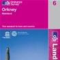 OS Landranger Map 6 Orkney - Mainland