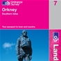 OS Landranger Map 7 Orkney - Southern Isles