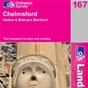 OS Landranger Map 167 Chelmsford