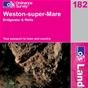 OS Landranger Map 182 Weston-super-Mare