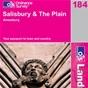 OS Landranger Map 184 Salisbury & The Plain