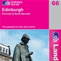 OS Landranger Map 66 Edinburgh