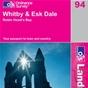 OS Landranger Map 94 Whitby & Esk Dale
