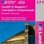OS Landranger Map 171 Cardiff & Newport