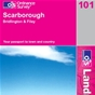 OS Landranger Map 101 Scarborough