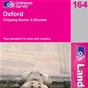 OS Landranger Map 164 Oxford