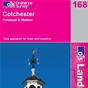 OS Landranger Map 168 Colchester