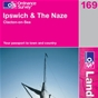 OS Landranger Map 169 Ipswich & The Naze