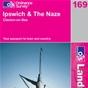 OS Landranger Map 169 Ipswich & The Naze