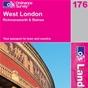 OS Landranger Map 176 West London