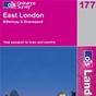 OS Landranger Map 177 East London