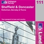 OS Landranger Map 111 Sheffield & Doncaster