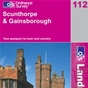 OS Landranger Map 112 Scunthorpe & Gainsborough