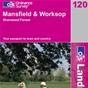 OS Landranger Map 120 Mansfield & Worksop