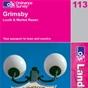 OS Landranger Map 113 Grimsby