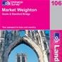 OS Landranger Map 106 Market Weighton