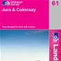 OS Landranger Map 61 Jura & Colonsay