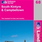 OS Landranger Map 68 South Kintyre & Campbeltown