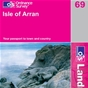 OS Landranger Map 69 Isle of Arran