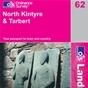 OS Landranger Map 62 North Kintyre & Tarbert