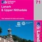 OS Landranger Map 71 Lanark & Upper Nithsdale