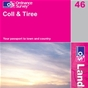 OS Landranger Map 46 Coll & Tiree