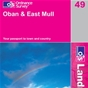 OS Landranger Map 49 Oban & East Mull