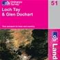 OS Landranger Map 51 Loch Tay & Glen Dochart