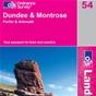 OS Landranger Map 54 Dundee & Montrose