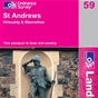 OS Landranger Map 59 St Andrews