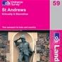 OS Landranger Map 59 St Andrews