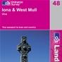 OS Landranger Map 48 Iona & West Mull