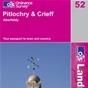 OS Landranger Map 52 Pitlochry & Crieff