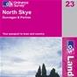 OS Landranger Map 23 North Skye