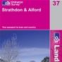 OS Landranger Map 37 Strathdon & Alford
